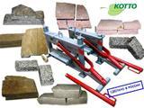 Нож-гильотина для резки тротуарной плитки,  стеновых блоков, природного камня