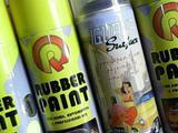 Rubber paint