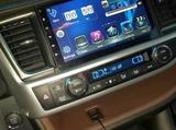 Штатная магнитола на Toyota Highlander 2014+, бу